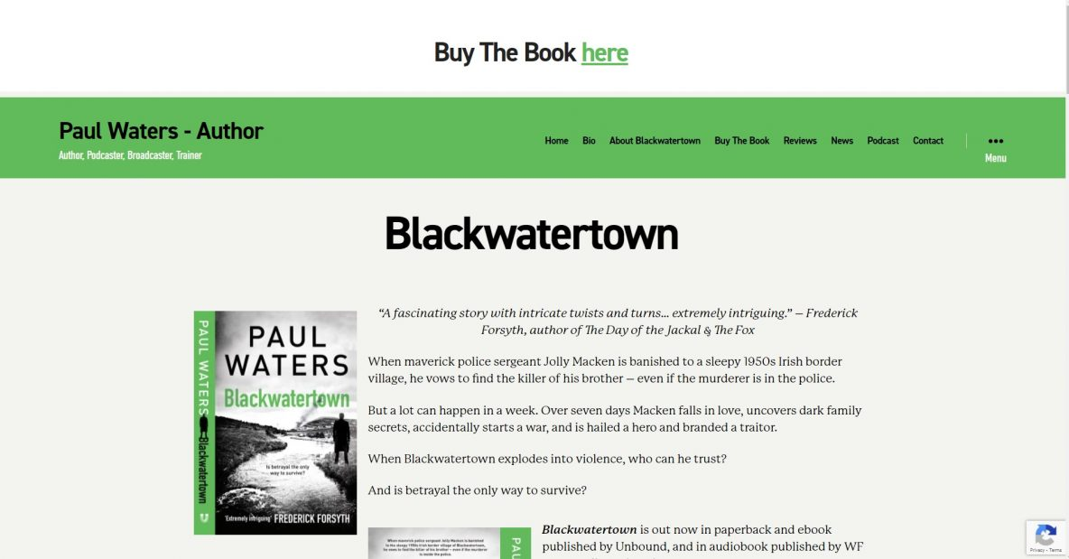 Paul Waters Author